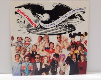 Eurythmics Vinyl Extended Play 12 inch Record King and Queen of America Annie Lennox Dave Stewart 4 songs 2 Live UK Import Dance Band Music