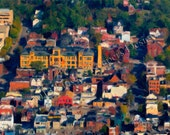 "Deutschtown West  (2013): a ""Gigaburgh"" painting by Meg Dooley"