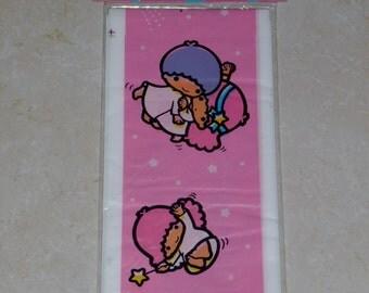 Vintage Sanrio 1983 Little Twin Stars Sealed Balloon Stick