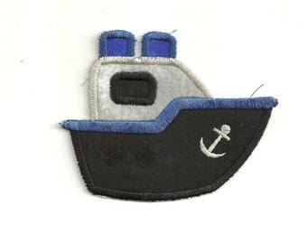 Boat Patch, any color combo! Custom Made!