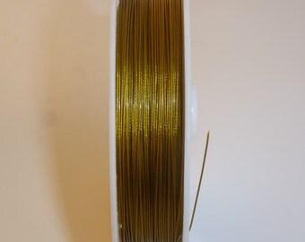D-02854 - 3 metre Jewellery Wire 0,38mm