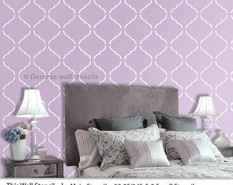 Reusable pattern stencil, DIY home wall stencil, Home décor