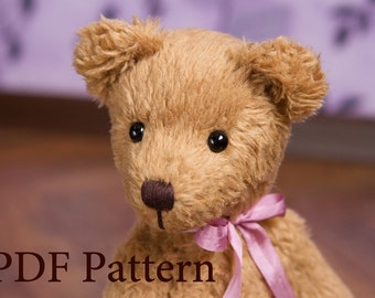 Pattern - Artist Teddy bear Misha