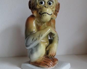 Karl Ens Volkstedt porcelain monkey