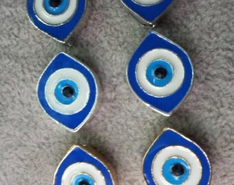 10  Pcs  Evil  Eye Beads Evil Eye  Jewelry Hamsa Evil Eye protection(C455-1)