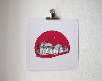 ART PRINT / Kensington Market / Toronto / ON / Canada