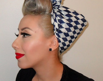 1950s inspired head scarf - PinUp - Rockabilly