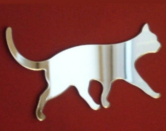 Cat and Kittens Walking Mirrors - 5 Sizes Available. Also available in packs of 10 Crafting & Decorative Mirrors