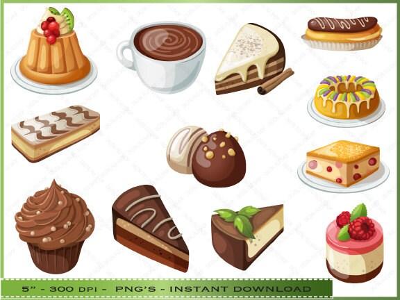 clipart dessert pictures - photo #23