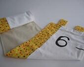 Handpainted Fabric Growth Chart (custom orders encouraged)