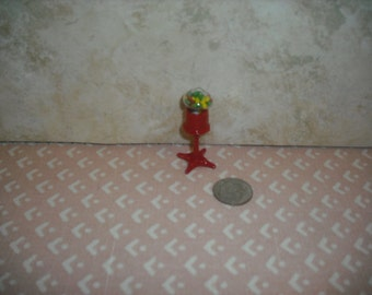 1:12 scale Dollhouse Miniature Table top gum ball machine