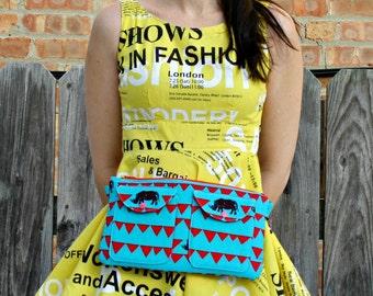 Beatnik Waist Bag pdf sewing pattern