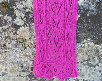 Penny's Peony Lace Scarf