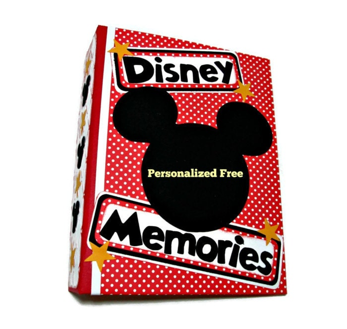 Mickey Mouse Photo Album Disney Scrapbook By