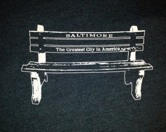 Baltimore (The Greatest City in America) Bench