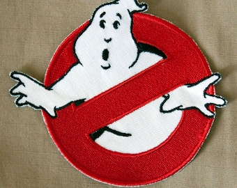 """Ghostbusters logo """"No Ghost"""" patch ANY COLOR"""