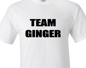 Team Ginger - Women's T-shirt....Be proud of your red hair