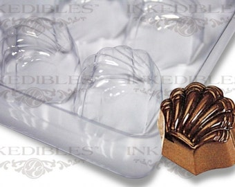 Non-Stick Transparent Chocolate Mold (Sea-Shell for PP-1018)