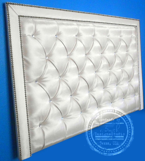 Headboard In All Sizes Tufted Upholstered By