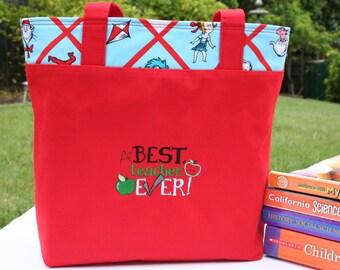 Dr. Seuss Teacher Appreciation Bag