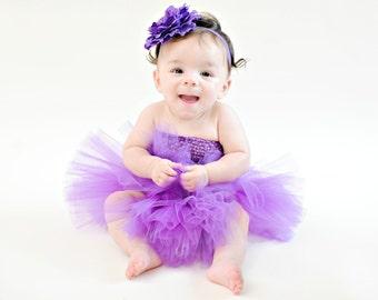 TUTU SKIRT...Purple Tutu Skirt...Newborn Tutu...Baby Tutu...Cakesmash Tutu...Birthday Tutu...Summer Dress