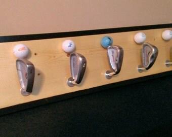 Golf Hat / Coat Rack