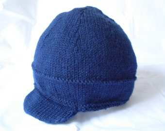 Knitted Baby Boy Hat