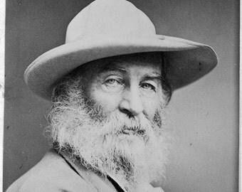 Walt Whitman (1870)-  . Photograph Print