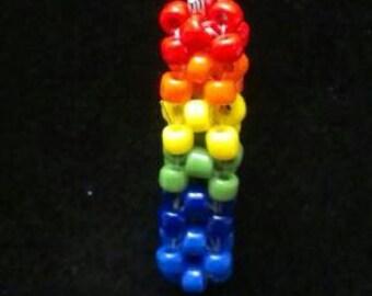 LGBT Rainbow Gay Pride Keychain