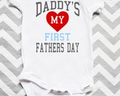 My Daddy's First Fathers Day Onesie/Tee