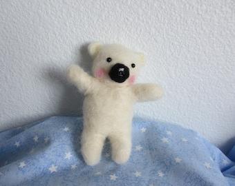 Kawaii Needle Felting Bear