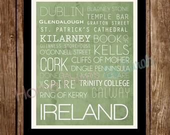 Ireland Print