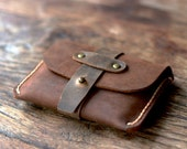 Treasure Chest Credit Card Wallet - JooJoobs Original Design - Leather Wallets [011]
