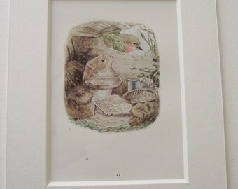 Original 1920's edition of Beatrix Potter's  'The Tale of Johnny Town-Mouse'.