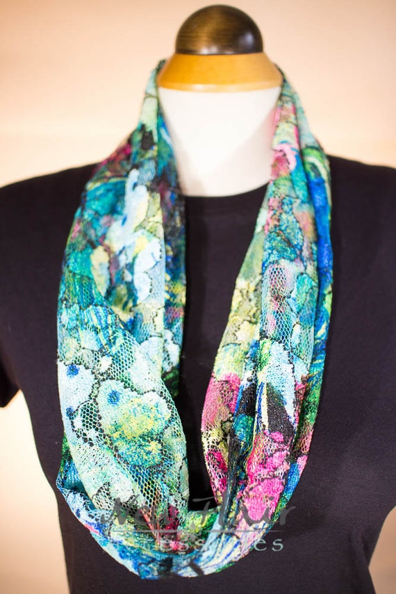 scarf fabric infinity scarf fashionable accessory twisted
