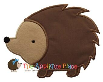 Hedgehog Machine Embroidery Applique Design