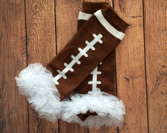 Football Leg Warmers, Leggings, Football Leg Warmers, Baby Leggings