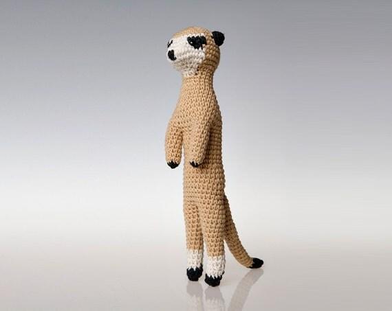 Meerkat Amigurumi Pattern, Meerkat crochet pattern, toy ...