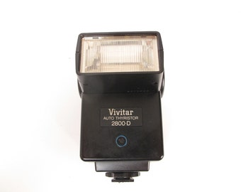Camera Flash Vivitar Auto Thristor 2800 D