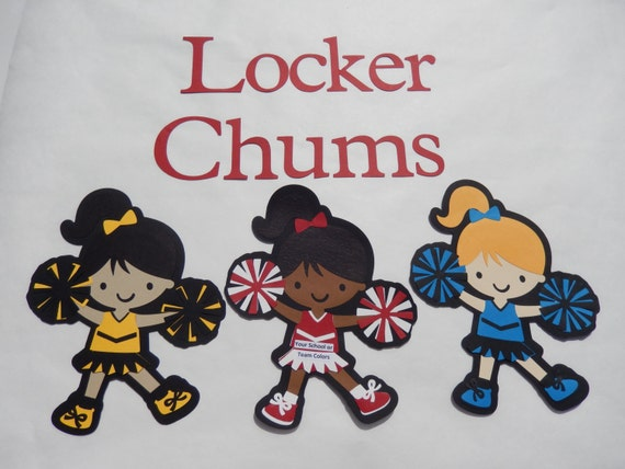 Cheerleading Locker Decorations. Like this item  Cheerleader Locker Decoration Personalize your own