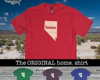 Nevada Home. shirt- Men's/Unisex Next Level
