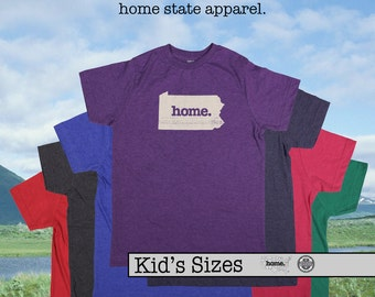 Pennsylvania home tshirt KIDS sizes The Original home tshirt