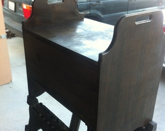 Stain or Urethane finish for Sawdust Woodcrafting Furniture and Boxes