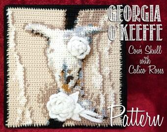 Intarsia Crochet Pattern Maker : Items similar to Pop-Art Cleopatra Profile Portrait ...