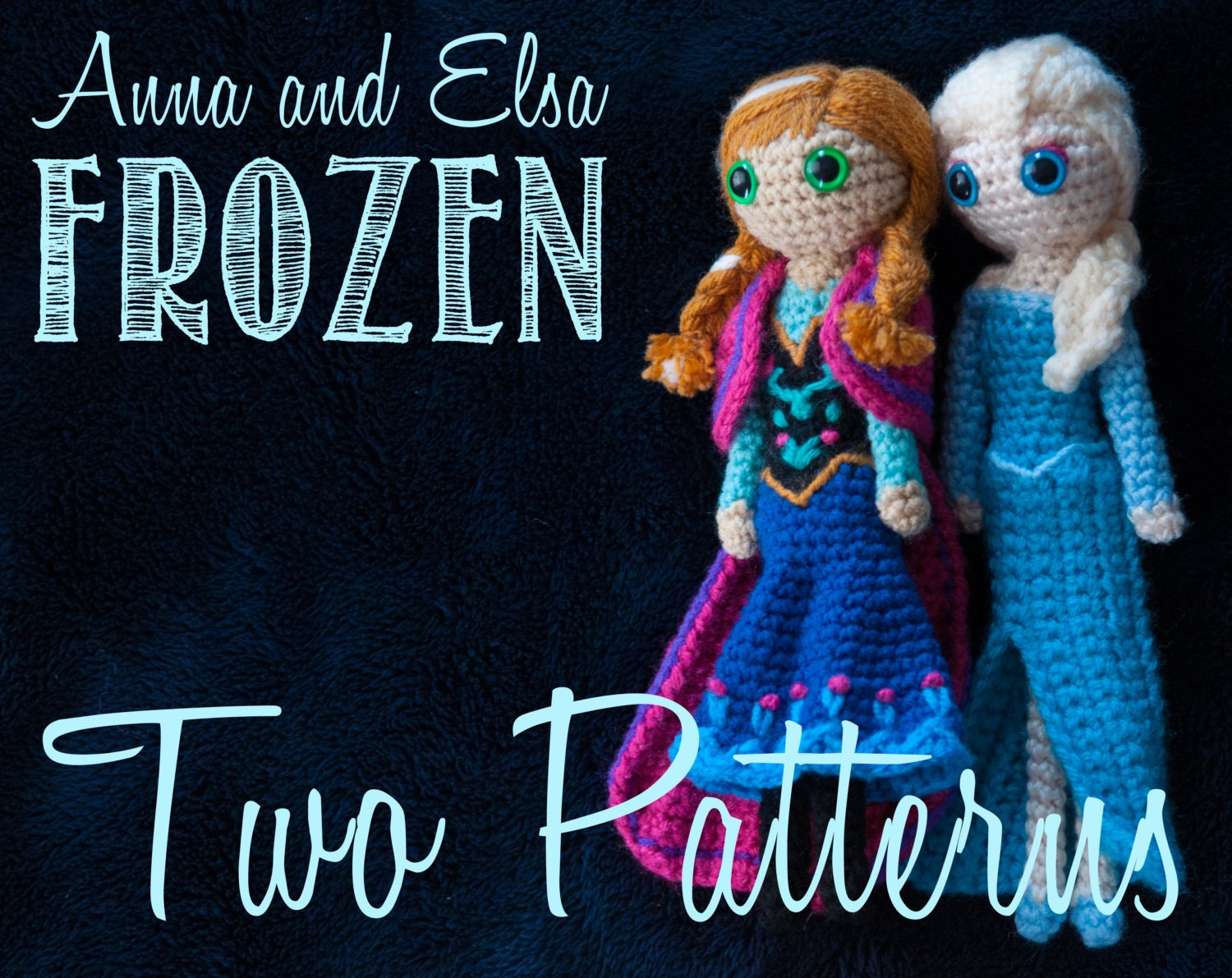 Crochet Elsa Amigurumi : Anna and Elsa Frozen Amigurumi Crochet Patterns