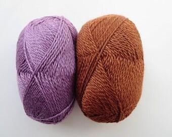 50% Baby Alpaca, 50 percent Silk Yarn (1.75 oz - 180 yards) Free Shipping!