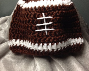 Infant football beanie