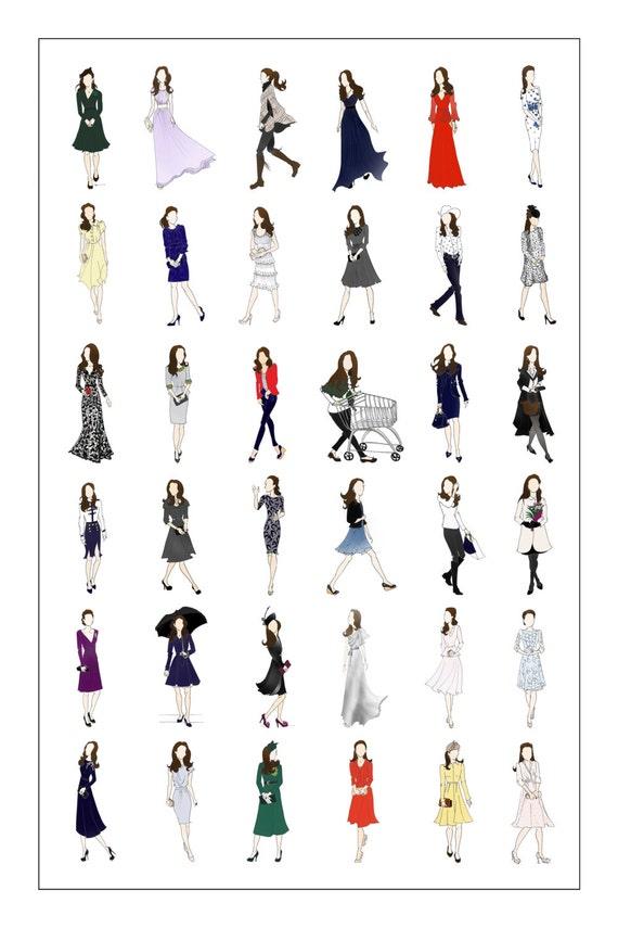 Items similar to Kate Middleton, Duchess of Cambridge ...