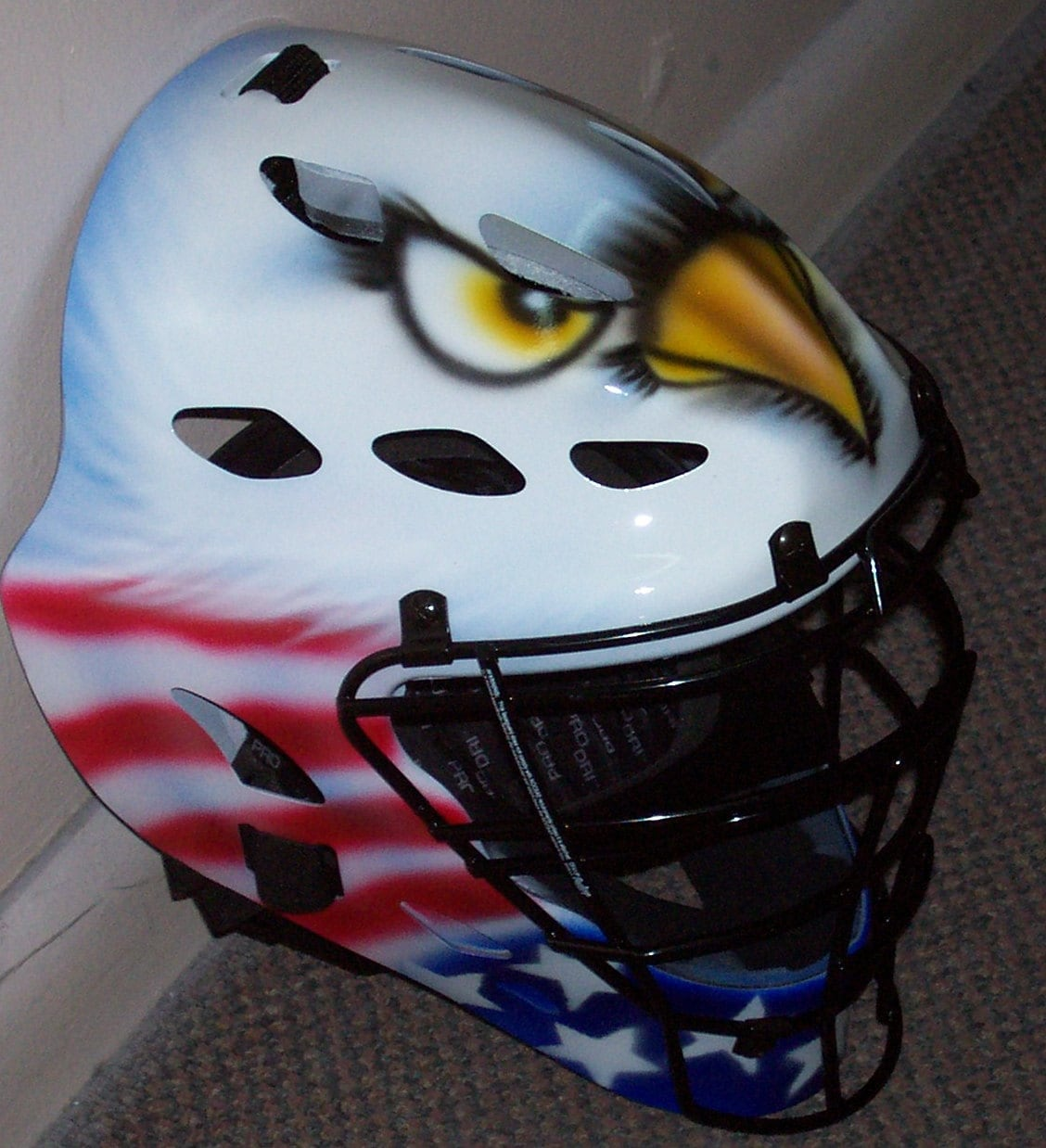 Catchers Helmet Airbrush