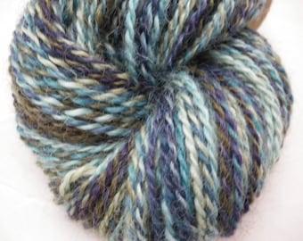 Handspun Wensleydale Wool Worsted Weight Yarn